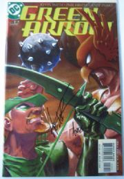 Green Arrow #12 Dynamic Forces DF Signed Parks & Hester COA Ltd 1999 DC comic book